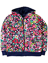 Boboli Mädchen Kapuzenpullover Fleece Jacket Stretch for Girl