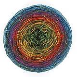 NEXT Yarns Donegal Tweed Farbverlauf Buntstifte mit grün