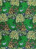 Afrikanischer Baumwollstoff - 1,2m x 5,5 Meter lang - 100%