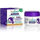 Puressentiel - Sommeil Détente - Baume de Massage Calmant Bébé - Aux 3 huiles essentielles - Formule 100% d'origine naturelle