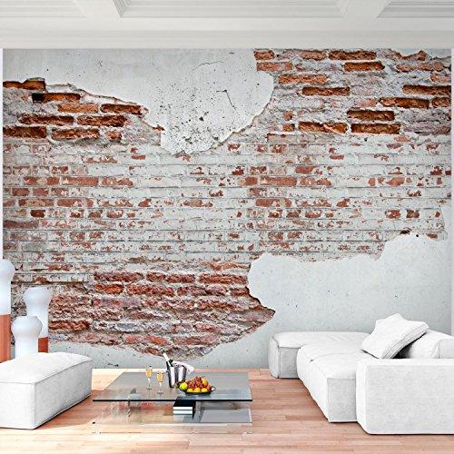 fototapete steinwand 352 x 250 cm vlies wand tapete wohnzimmer schlafzimmer b ro flur dekoration. Black Bedroom Furniture Sets. Home Design Ideas