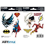 ABYstyle - DC Comics - Stickers - 16x11cm - Justice League