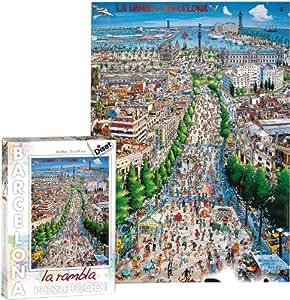 Diset - 70245 - Puzzle - Ramblas Barcelona