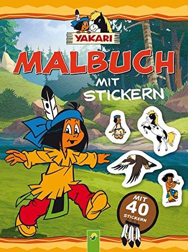 Yakari - Malbuch mit 40 Stickern