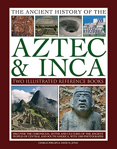 The Ancient History of the Aztec & Inca: Two Illustrated Reference Books: Discover the History, Myths and Cultures of the Ancient Peoples of Central and South America, with 1000 Photographs