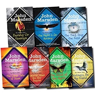The Tomorrow Series Collection John Marsden 7 Books Set (The Other Side of Dawn, The Third Day, The Frost, The Dead of the Night, Tomorrow When the War Began, The Night is for Hunting, Darkness, Be My Friend, Burning for Revenge) (Paperback)