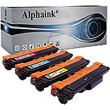 4 Toner Alphaink con chip Compatibili con Brother TN-247 TN-243 per Stampanti Brother DCP L3550CDW MFC L3770CDW L3750CDW HL-L