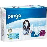 Pingo - Couches PINGO T1 écologiques et biodégradables 2/5kg (108 couches)