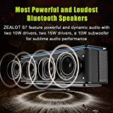 ZEALOT-S7-Wireless-Bluetooth-Speakers-Touch-Control-4-Strong-Bass-Drivers-HD-Stereo-Sound-Portable-Speakers-10000mAh-Battery-Power-Bank-AUX-Micro-SD-Card-Input-Compatible-with-most-Smartphones