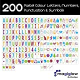 iBoutique by MagiGlow Extra pack of 200 Colour Letters, Numbers, Symbols & Emojis for Cinematic Light Boxes