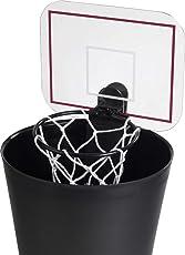 balvi Basketballkorb für den Mülleimer, Papierkorb mit Sound - toller Spaß für im Büro und Zuhause