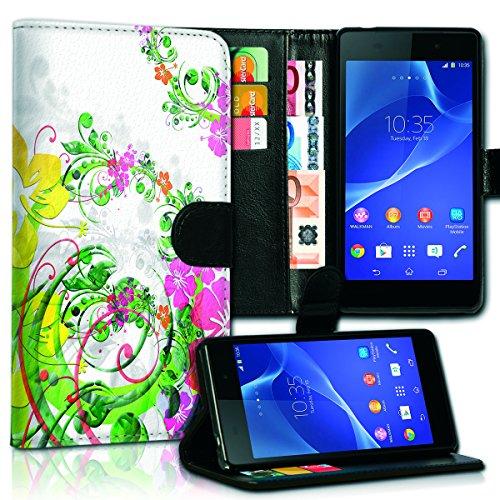 Wallet Book Style Flip Handy Tasche Case Schutz Hülle Schale Motiv Etui für Apple iPhone 5 / 5S - Variante UMV17 Design12 Design 5