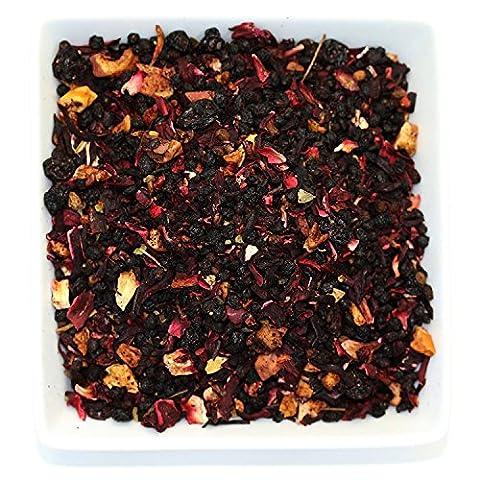 Tealyra - Grandma's Garden - Berry and Fruit Tea - Pure Herbal Tea - Loose Leaf Tea - Caffeine Free - Hot & Ice Tea - All Natural - 110g