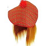 Scottish Hat - Adult Tam O Shanter with Hair