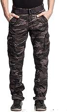 BEEVEE Men's Cotton Cargo Pant