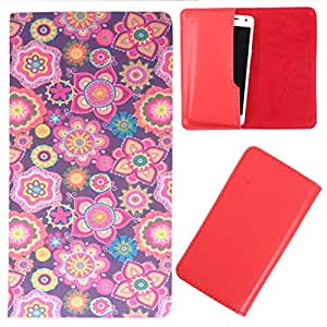 DooDa - For Lenovo A 6000+ PU Leather Designer Fashionable Fancy Case Cover Pouch With Smooth Inner Velvet