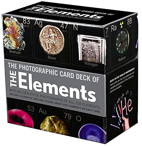 Photographic Card Deck Of The Elements por Theodore Gray