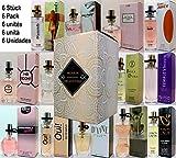 Set von 6 (sechs) Parfüm für Damen 15ml Jedes einzelne Box Spray.(Eau de Parfum) Vip Edition