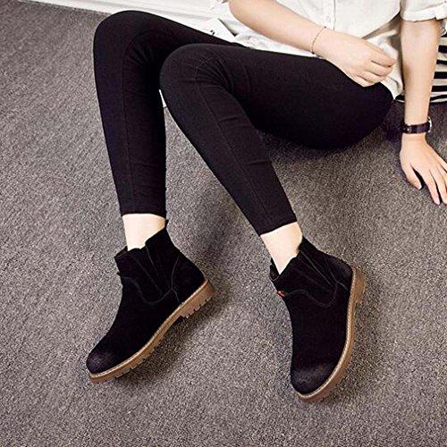 Solshine , chaussures compensées femme Schwarz 4
