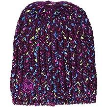 Original Buff Knitted Polar Yssik Amaranth Gorro, Unisex Adulto, Morado, M