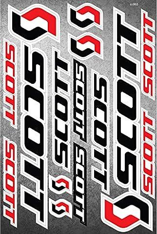 Scott Autocollants pour vélo Autocollants Vinyl Adesivi