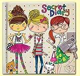 Rachel Ellen Journal Intime Secret, Multicolore, avec Motif Amis