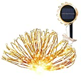 Best Los paquetes de baterías GRDE® - Luces Navidad Exterior GRDE 150 LED DIY Solar Review