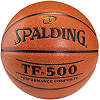 Spalding Tf500 In/Out Sz.7 (74-529Z) Balón de Baloncesto, Naranja, 7