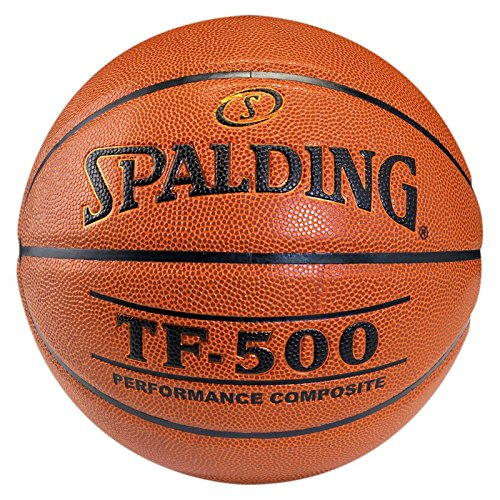 Spalding Tf500 Indoor Sz.7 Basketball Ball, orange, 7
