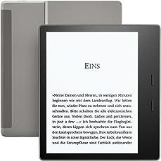 Kindle Oasis eReader, Zertifiziert und generalüberholt, wasserfest, hochauflösendes 7 Zoll-Display (300 ppi), integriertes Audible, 8 GB, WLAN