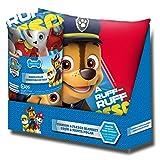 Kids Licensing–pw16362–Set Geschenk–Kissen und Kuscheldecke mit Dem Bild von Paw Patrol