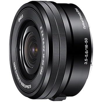 Sony 16-50mm F3.5-5.6 OSS - Objetivo para Sony (distancia focal 16-50mm, apertura f/3.5-22, estabilizador, diámetro: 40.5mm) color negro