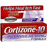 4 Pack - Cortizone-10 Creme Intensive Healing Formula 2 oz
