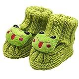 Zapatos de Ganchillo del cordón del bebé recién Nacido de la...