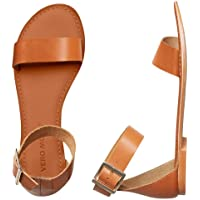 Vero Moda Vmelsa Leather Sandal, Mocassino Donna