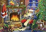 Weihnachtsmann Adventskalender