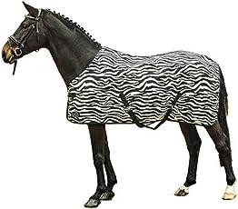 HKM Sports Equipment HKM Fliegendecke -Zebra- mit Kreuzgurt