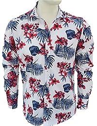 CARISMA Brandneu !!! Modisches Herrenhemd von mit Floralem Print CRM8394