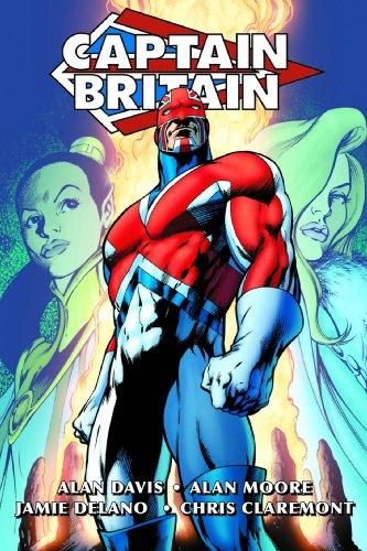 Captain Britain By Alan Moore & Alan Davis Omnibus HC