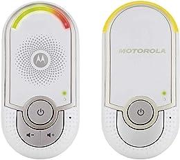 Motorola MBP 8/ MBP 162 Babyphone, Digitales Wireless Babyfon, Mit Nachtlicht und DECT-Technologie, Zur Audio-Überwachung, Weiß
