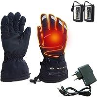 BDRateful Guanti riscaldati Guanti riscaldati Ricaricabili USB con Touchscreen per Uomo Donna Outdoor Moto Caldo Guida…