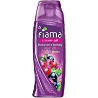 Fiama Shower Gel Blackcurrant & Bearberry Body Wash with Skin Conditioners for Radiant Glow, 250 ml bottle
