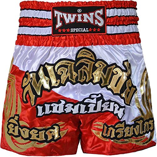TWINS Muay Thai Shorts, Special Design, Nr. 183, Thaibox hosen, Short, MMA Größe XL (Twins Muay Thai Shorts)