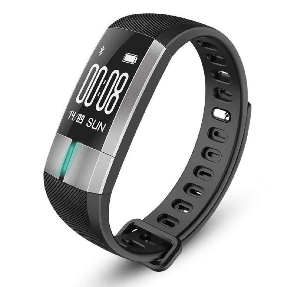 Masalong ECGPPG Smart Wristband Bracelet Heart Rate Blood Pressure Monitor Fitness Tracker