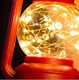 HAPPYMOOD Rasen Lampe Nacht Licht Zeichenfolge LED Beleuchtung Romantisch mit Haken zum Mauer Zimmer Garten Draußen Aufhängen / Dekoration