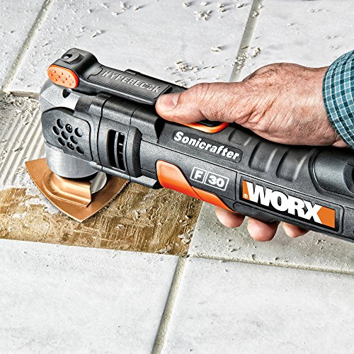 WORX WX680 F30 350W Sonicrafter Multi-Tool Oscillating Tool with 29 Accessories