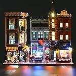 LIGHTAILING Set di Luci per (Piazza Assemblea) Modello da Costruire - Kit Luce LED Compatibile con Lego 10255 (Non…  LEGO