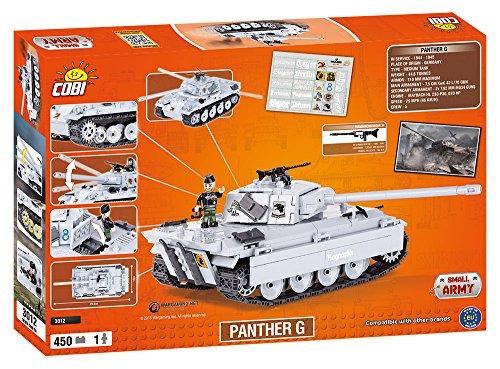 Cobi 3012 - Set Costruzioni Panther G, Grigio