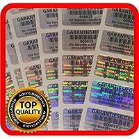 Label Label garantie hologramme 250étiquettes garantie sécurité autocollants 32x 15mm