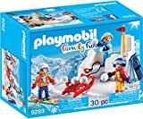 Playmobil 9283 Snowball Fight Action Figure, Multi-Colour